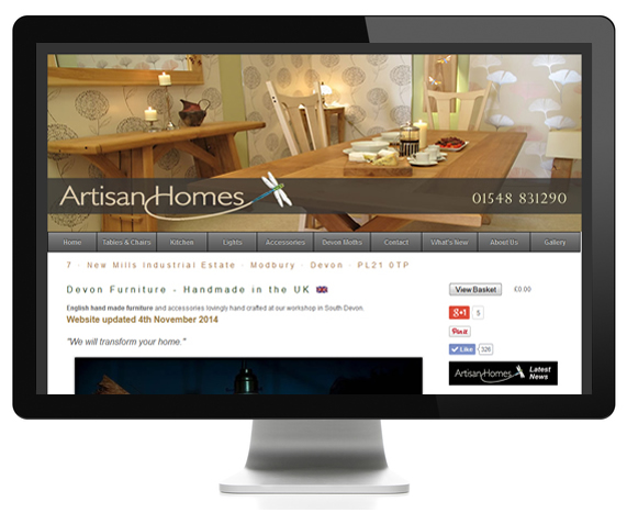 Furniture Designed Website