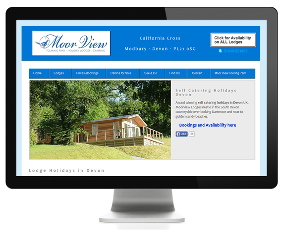 Holiday Lodges Website