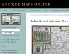Web Design for Antique Maps