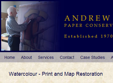 Andrew Wheeler Conservation by Devon Website Designer